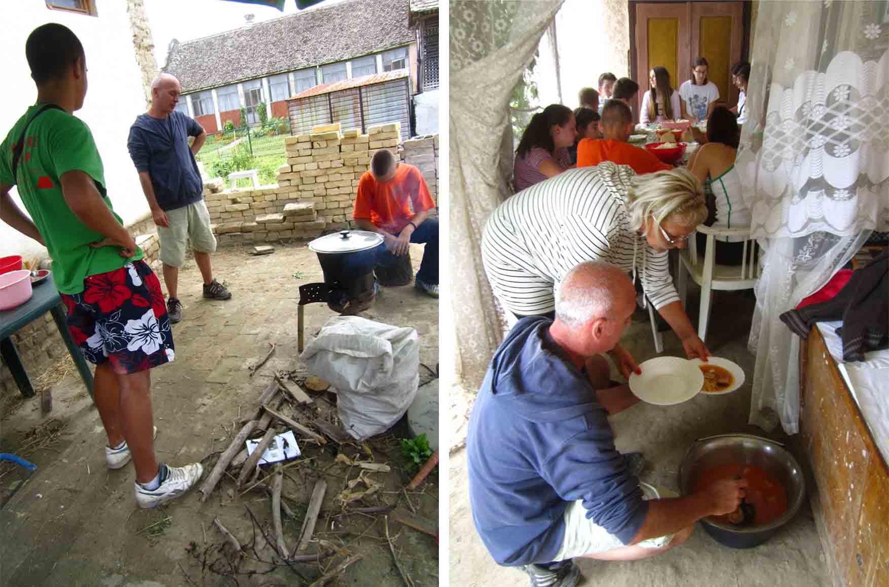 17 kamp zemljane gradnje II rucak