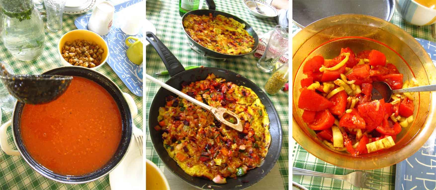 21 mORA 2015 Vinkov rucak No2 corba od leblebija fritata salata