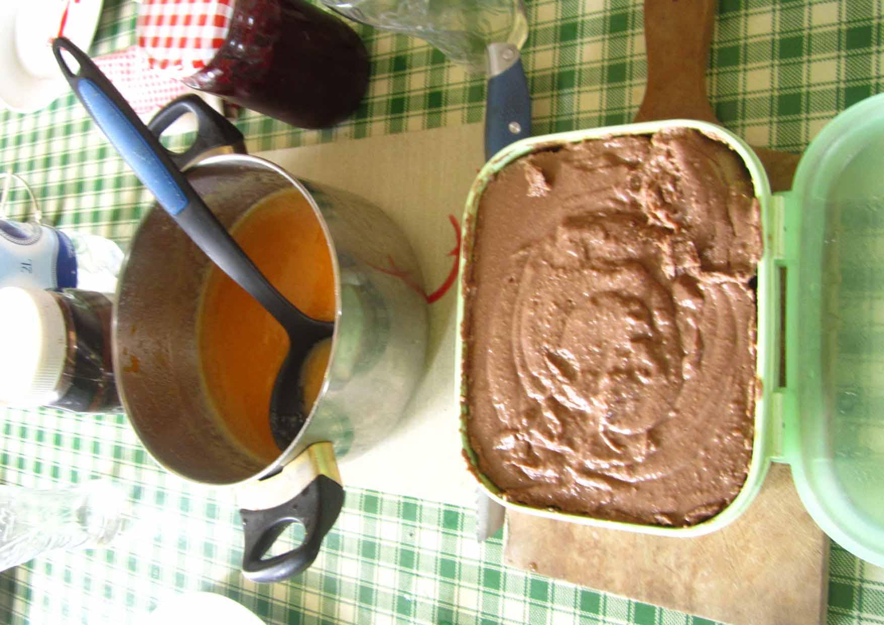25 mORA 2015 Vinkov dorucak No3 proso puding i sos od voca