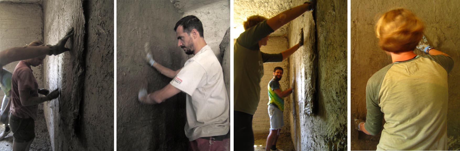 84 mORA 2015 malterisanje zidova blatnim malterima