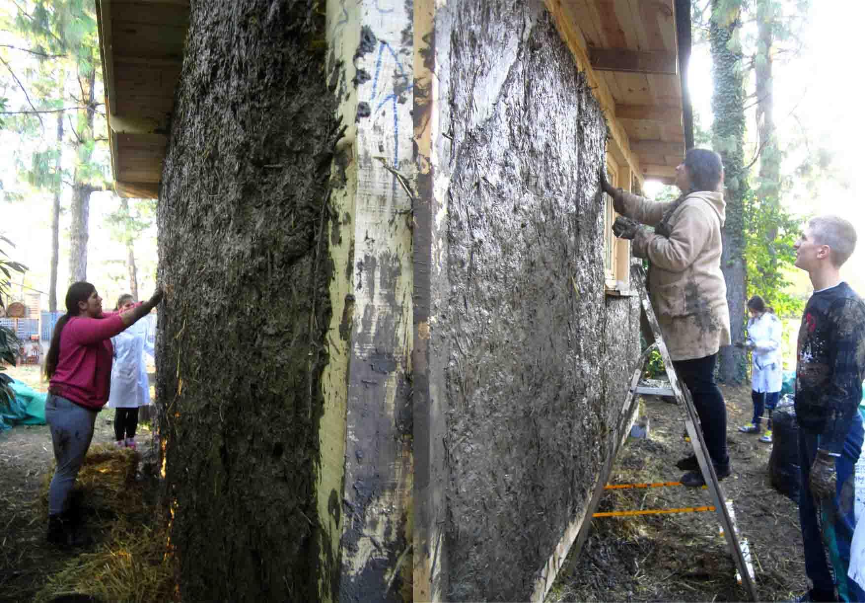 10 francuska skola kucica od slame i blata