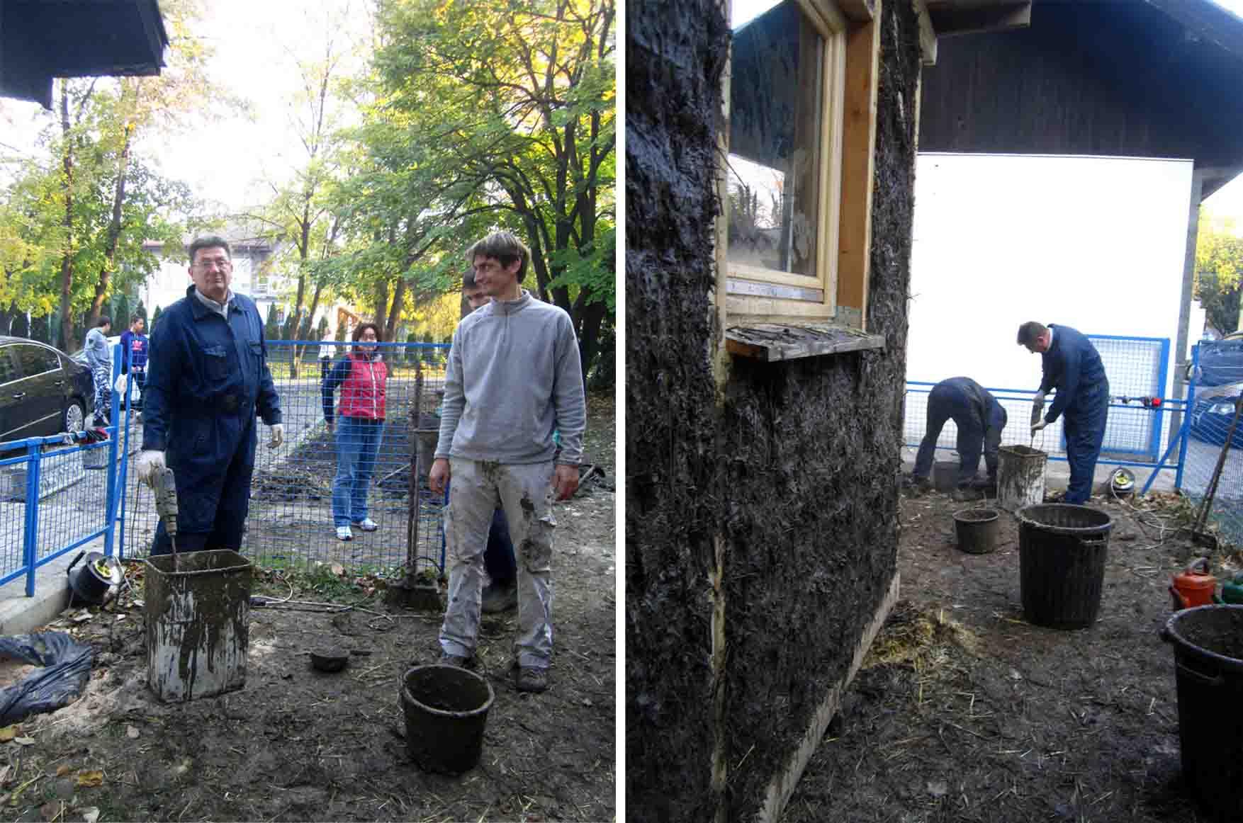 11 francuska skola kucica od slame i blata