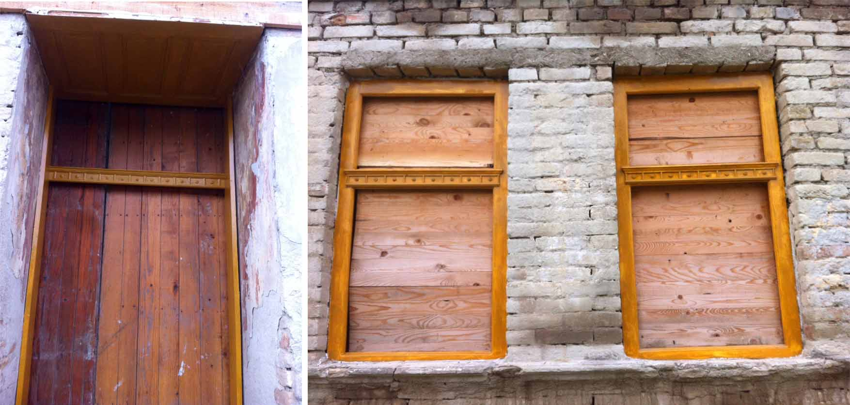04 Mosorin radionica Gorjana i ekipa farbanje okvira vrata i prozora
