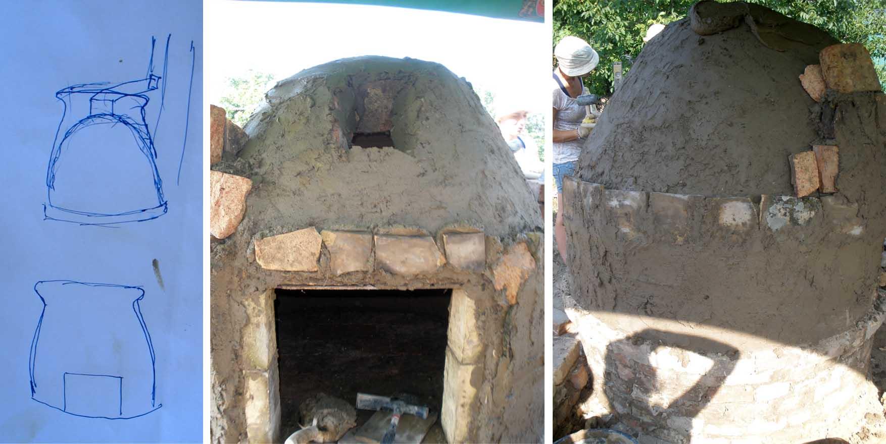 36 pećke Vass Zoltan žemska pećka radionica zidanje cetvrti dan
